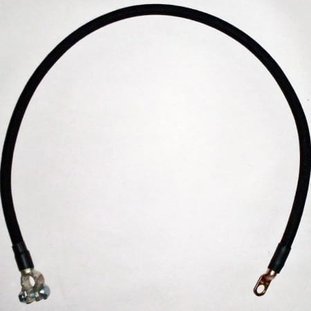 #B2001-001, Negative Battery Cable For Allis Chalmers B, C, CA, IB Tractors