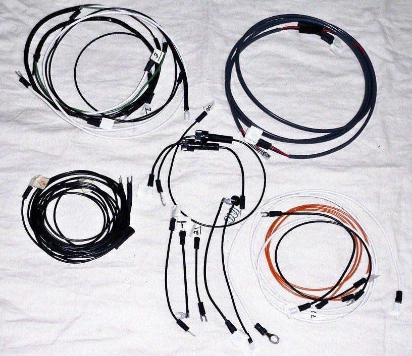 john deere 620 gas standard tractor wire harness the. Black Bedroom Furniture Sets. Home Design Ideas