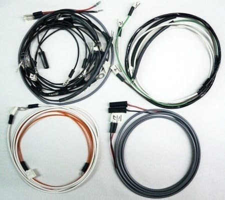 John Deere 520 Gas Row Crop Tractor Wire Harness (Modified For A 1 Wire Alternator)