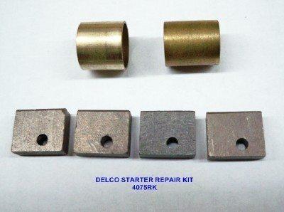 4075RK, IHC/Farmall SMTA, 6 Volt Starter Repair Kit