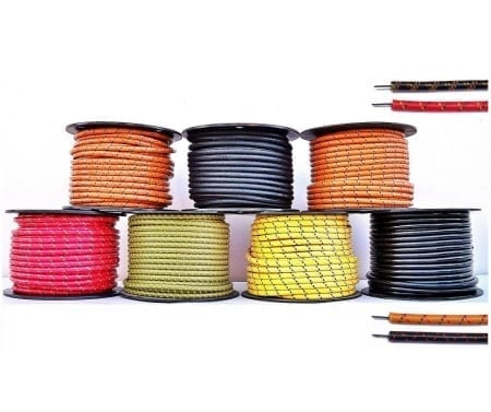 7.8mm Cotton Braid Spark Plug Wire