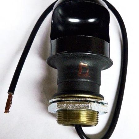 #B9016-014, Black Finish Dash Lamp
