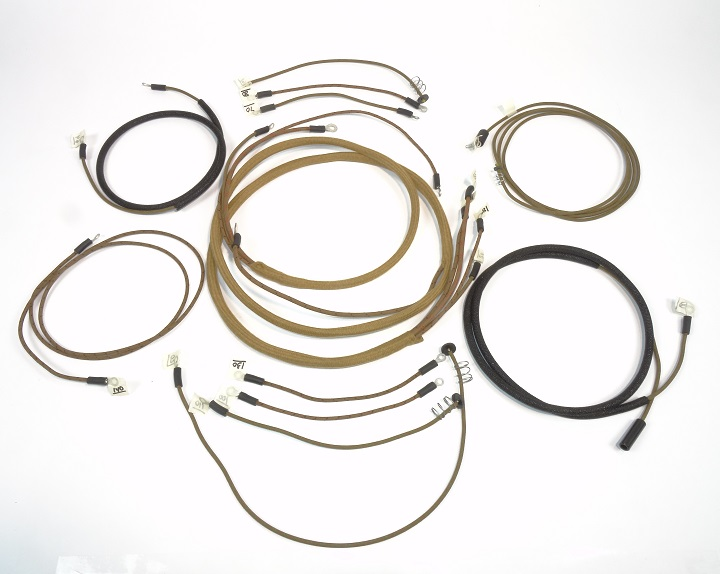 Complete Wiring Harness Allis Chalmers B CA with 1 wire Alternator C