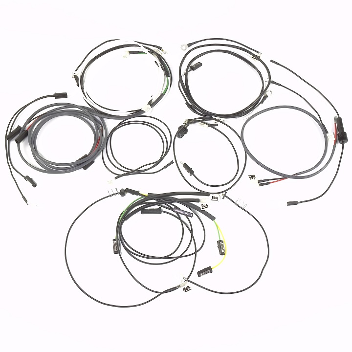 John Deeere 630 Lp Complete Wire Harness With Cowl Mounted Lights