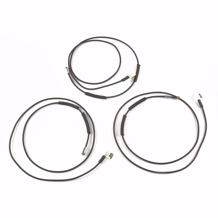 oliver super 77 gas complete wire harness