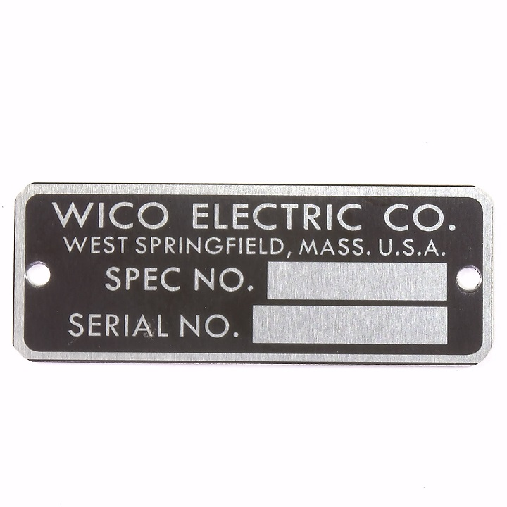 WICO B4027 I D  Tag