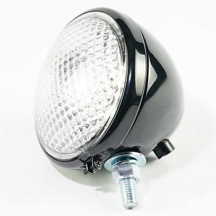 6 Volt Tractor Headlight Bulb : Volt headlight assembly the brillman company