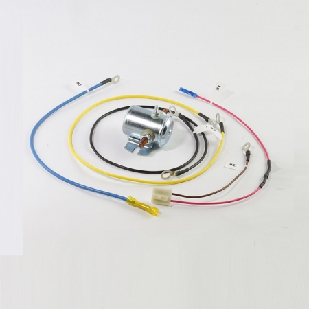 alternator mounting bracket adapter, generator light harness, alternator to starter wire