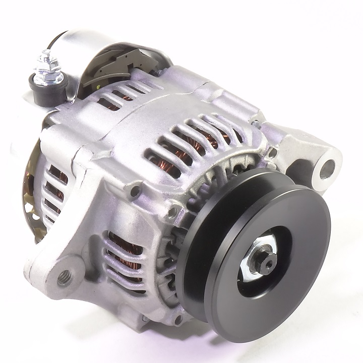 12 Volt Small Alternator With 40 Amp Negative Ground (3-Wire) - The ...