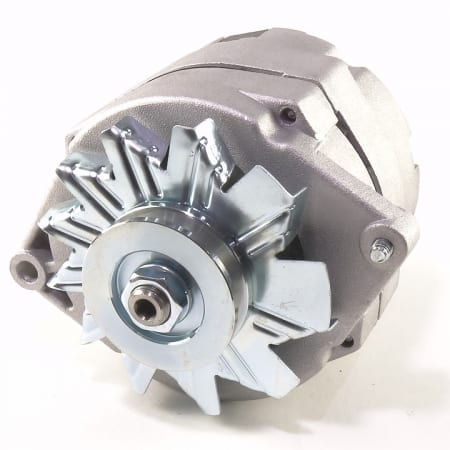 12 Volt One Wire Alternator, 100 Amp Positive Ground - The ...