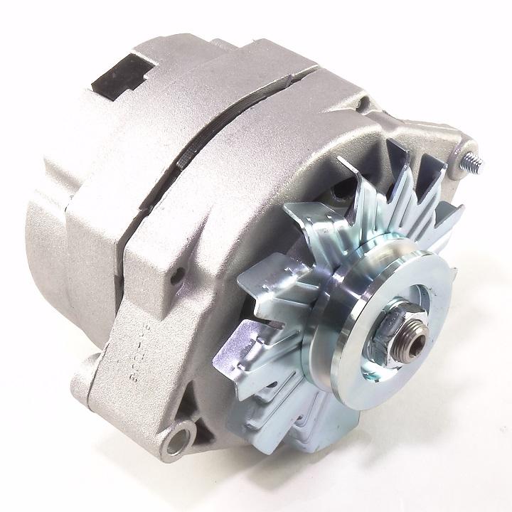 6 Volt One Wire Alternator 40 Amp Negative Ground