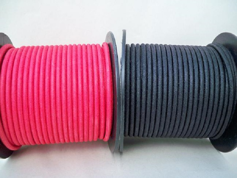 6 Gauge Cotton Braided Primary Wire Sold By The Foot