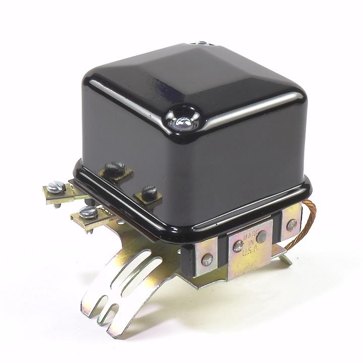 R623C 1 Web 6 volt saddle mounted cutout relay (delco version) the brillman