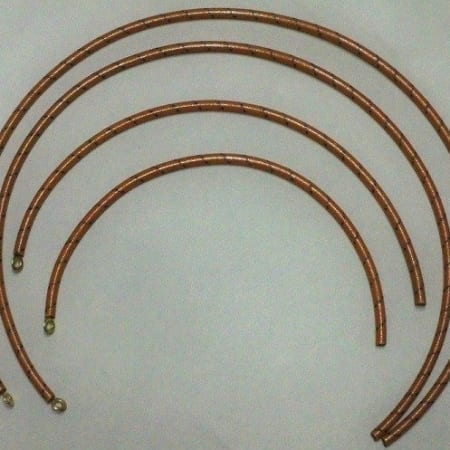 #B1001-001, Spark Plug Wire Set For Allis Chalmers 20-35E Tractor (With Magneto)
