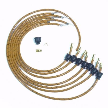 1929 6 Cylinder Oakland Tailored Spark Plug Wire Set