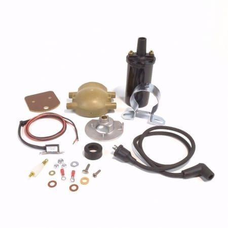 #B183XT, 12 Volt Negative Ground Ford Front Mount Distributor Electronic Ignition Kit