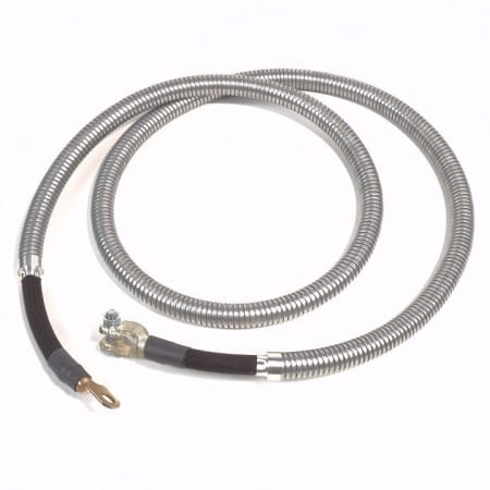John Deere G, GM Serial #13000 To 25999 Negative (Armored) Battery Cable
