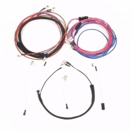 Allis Chalmers D17, D19 Diesel Serial #75,001 & Up (Series 4) Complete Wire Harness