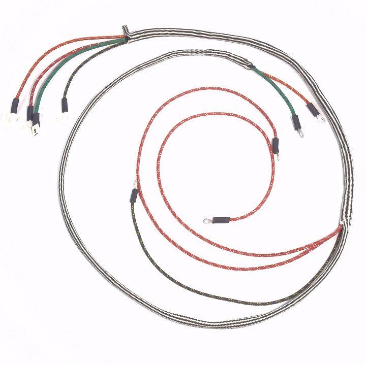 Cockshutt 30/ Co-Op E3 Complete Wire Harness - The Brillman Company   Co Op E3 Tractor Ignition Switch Wiring Diagram      The Brillman Company
