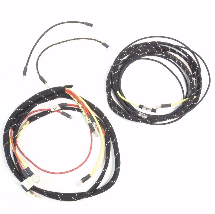 Ford 8n Battery Wiring : Ford n up to serial complete wire harness
