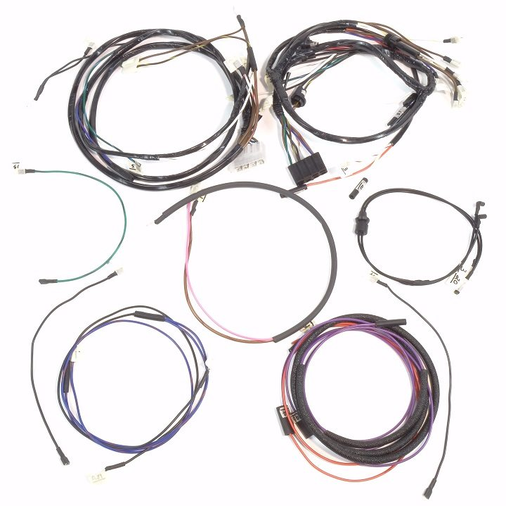 wiring harness for ford 3000 ford 2000  3000  4000 gas serial prefix  c  complete wire harness  ford 2000  3000  4000 gas serial prefix