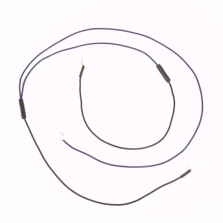 ford 2000  3000  4000 gas serial prefix  u0026quot c u0026quot  complete wire harness  10si alternator
