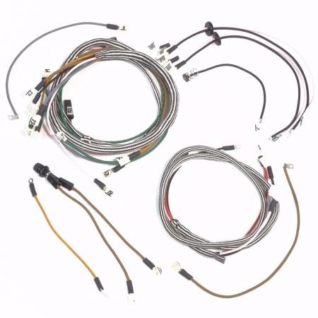 Farmall Cub Late Serial #210,001-224,400 & Cub Lo-Boy Serial #10,001-18,700 Complete Wire Harness