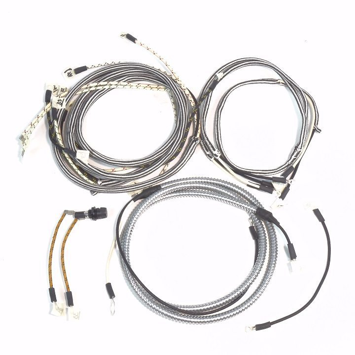 farmall super m serial  f28175  u0026 up  u0026 super mta serial  l504802  u0026 up complete wire harness