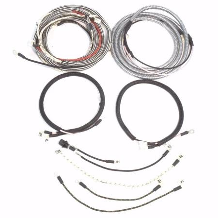 Farmall Super WD6/TA Serial #10,001 & Up Complete Wire Harness