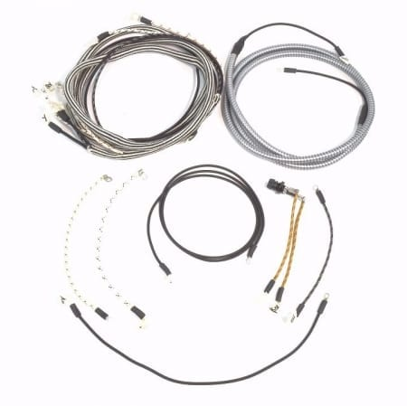 IHC/Farmall W9 (Voltage Regulator Mounted on Control Box) Complete Wire Harness