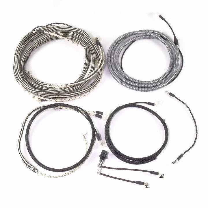 ihc  farmall wd9  serial  52 066  u0026 up  complete wire