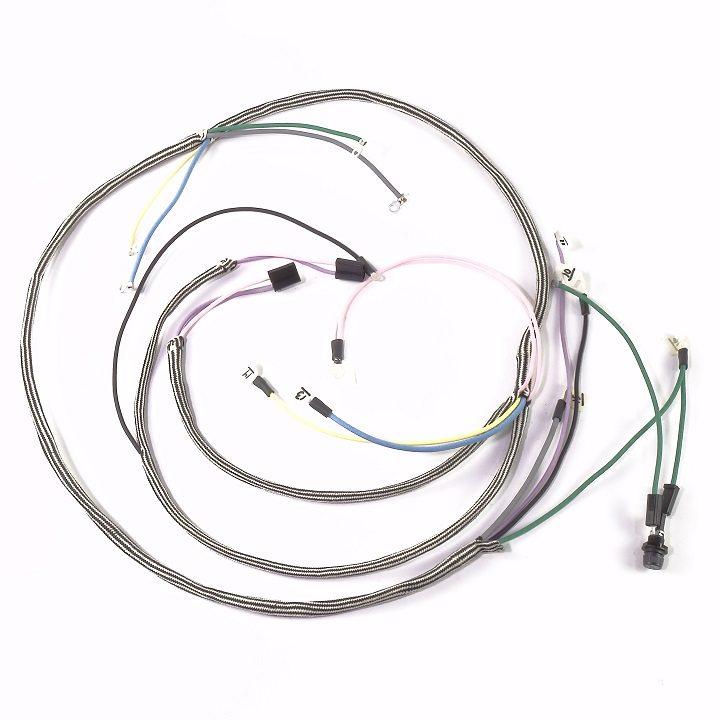 ihc  farmall 140  serial  26 801 to 45 000  complete wire harness