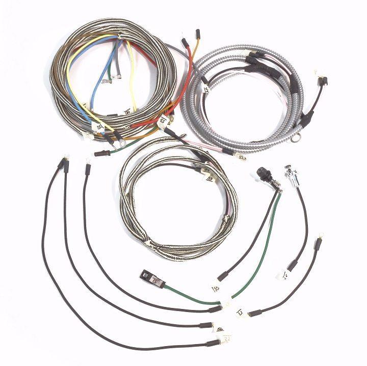 farmall 450 diesel serial 501 13490 complete wire harness the rh brillman com Farmall 300 Farmall M
