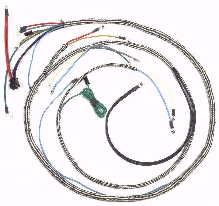 farmall 460 560 diesel complete wire harness the brillman company rh brillman com