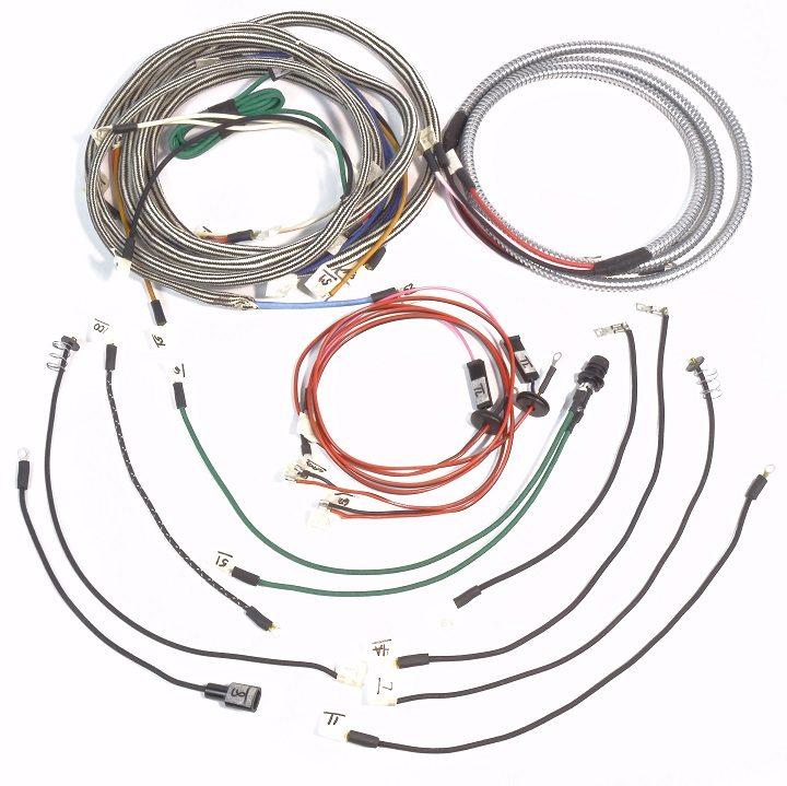 ihc farmall 460 gas row crop complete wire harness 1 wire rh brillman com
