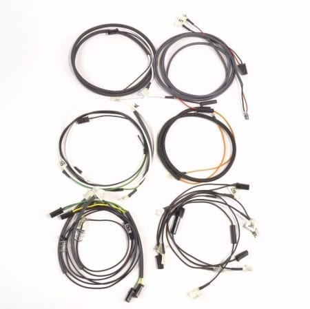 John Deere 530 Gas Complete Wire Harness (With Cowl Mounted Lights)