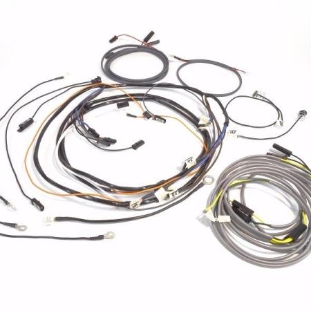 John Deere 730 Diesel Electric Start With Flat Fender Lights Wire Harness
