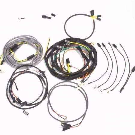John Deere 3010 Diesel Row Crop Complete Wire Harness (Original Design With 24V Generator)