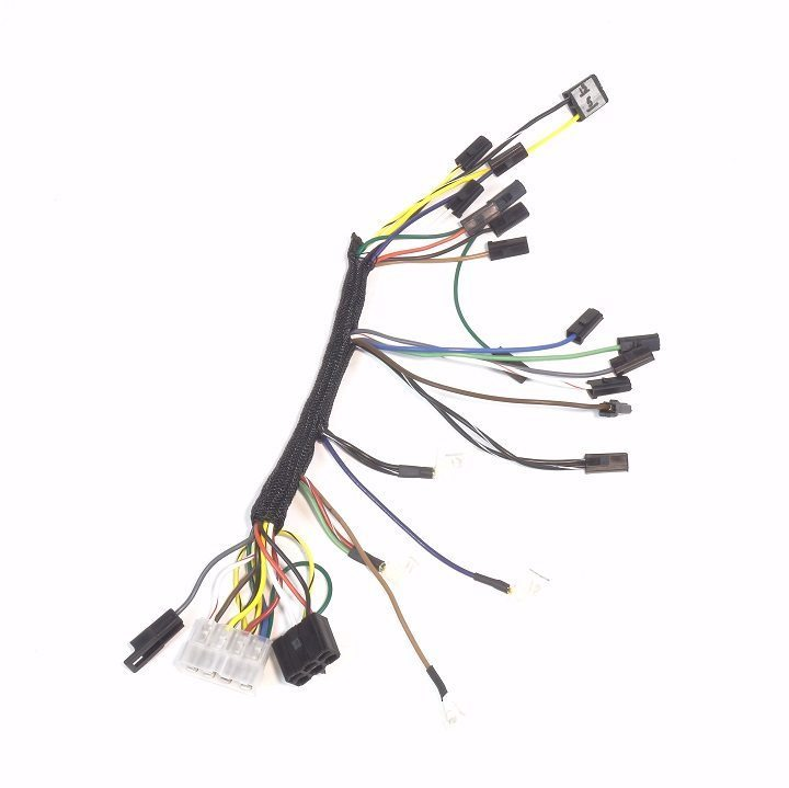 john deere 4020 diesel dash & engine wire harness (serial ... motorola alternator wiring diagram john deere