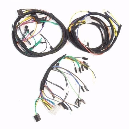 John Deere 4020 Diesel Dash & Engine Wire Harness (Serial #91,000-200,999 & Modified For Use With A 12 Volt Delco 10SI Alternator)
