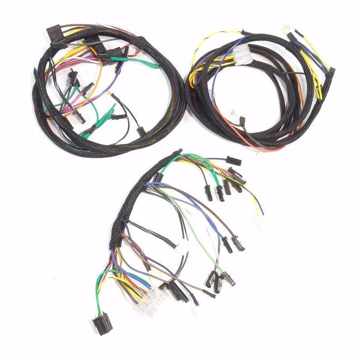 john deere 4020 diesel dash & engine wire harness (serial 91,000 engine wiring harness b&s 445677 at Engine Wiring Harness