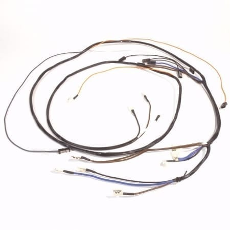 John Deere 730 Diesel Electric Start Main Wire Harness With Out Lights/Dash Harness