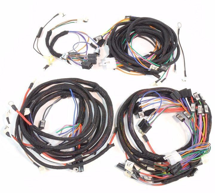 diesel wire harness ford 3000 diesel wiring harness diagram john deere 4000, 4020 diesel (synchro range transmission ...