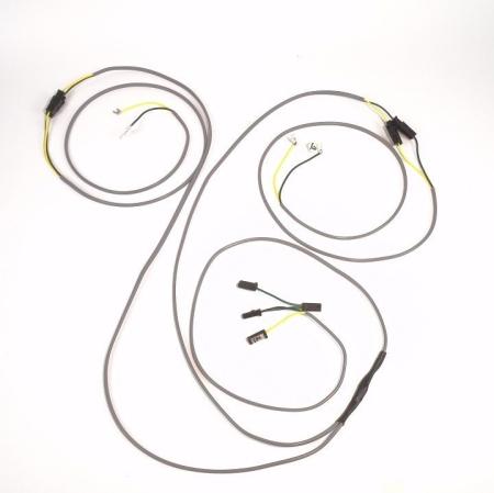 John Deere 3010 Diesel Row Crop Complete Wire Harness (Modified For 12 Volt 10SI Delco Alternator)