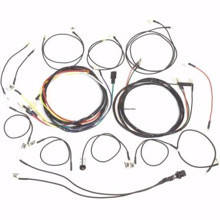 John Deere 330 & 430 Gas Complete Wire Harness (1 Wire Alternator)