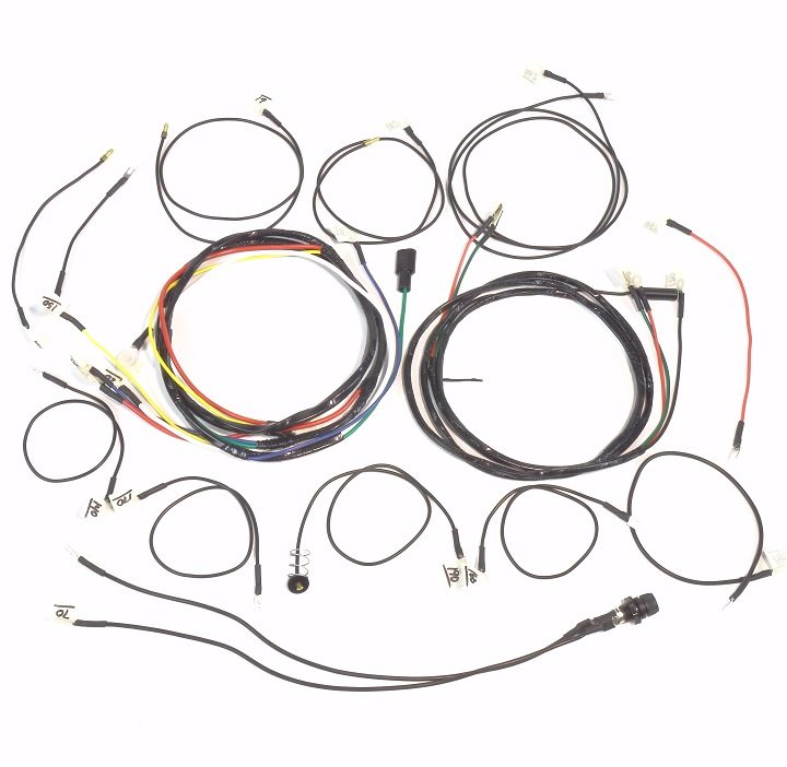 john deere 330  u0026 430 gas complete wire harness  1 wire