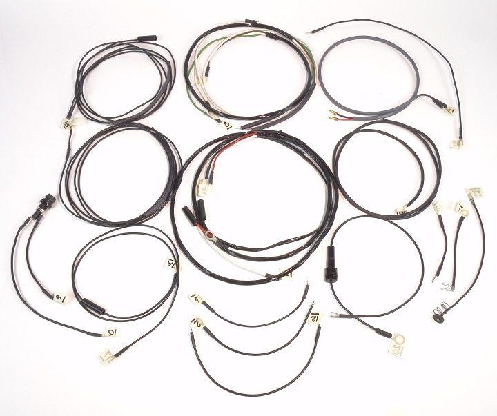 john deere 720 lp standard complete wire harnesss