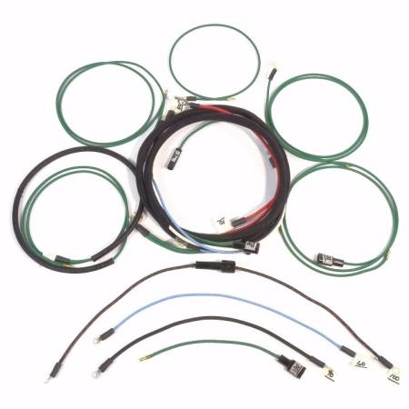 John Deere M, MC, MI, MT Complete Wire Harness (Modified For Voltage Regulator)
