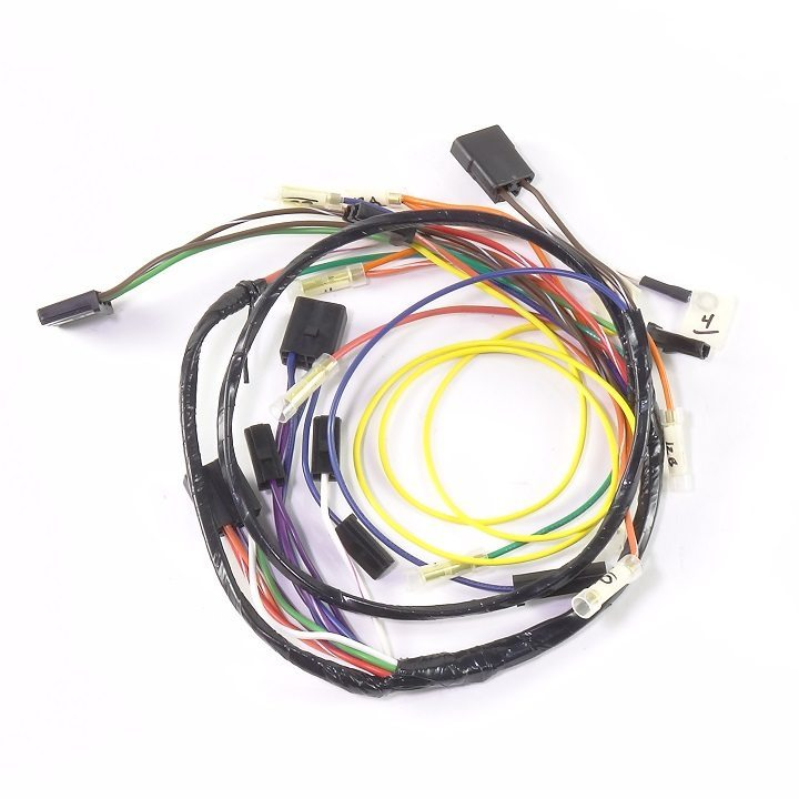 john deere 140 lawn tractor serial 10 001 to 22 400 complete wire rh brillman com john deere 140 wiring harness wrong connector John Deere 140 Wiring- Diagram Battery