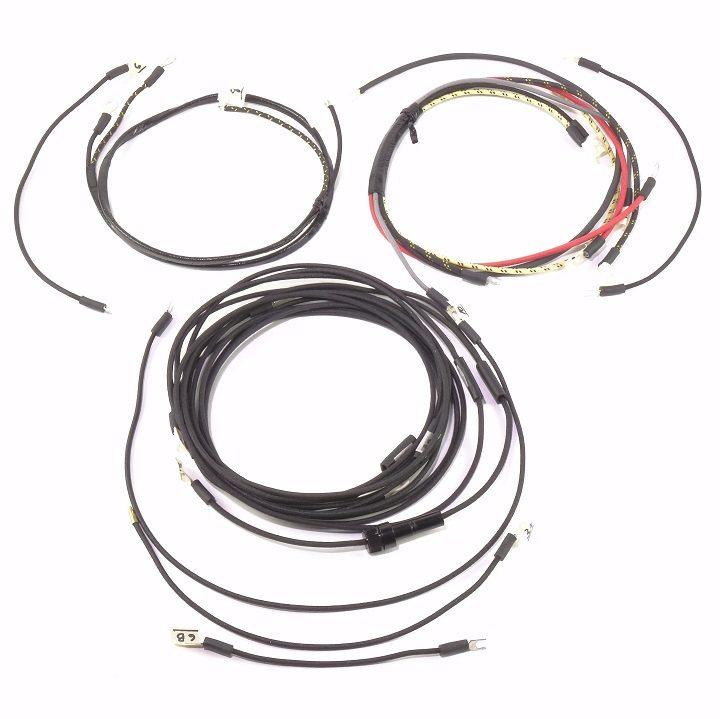 massey ferguson 35 complete wire harness